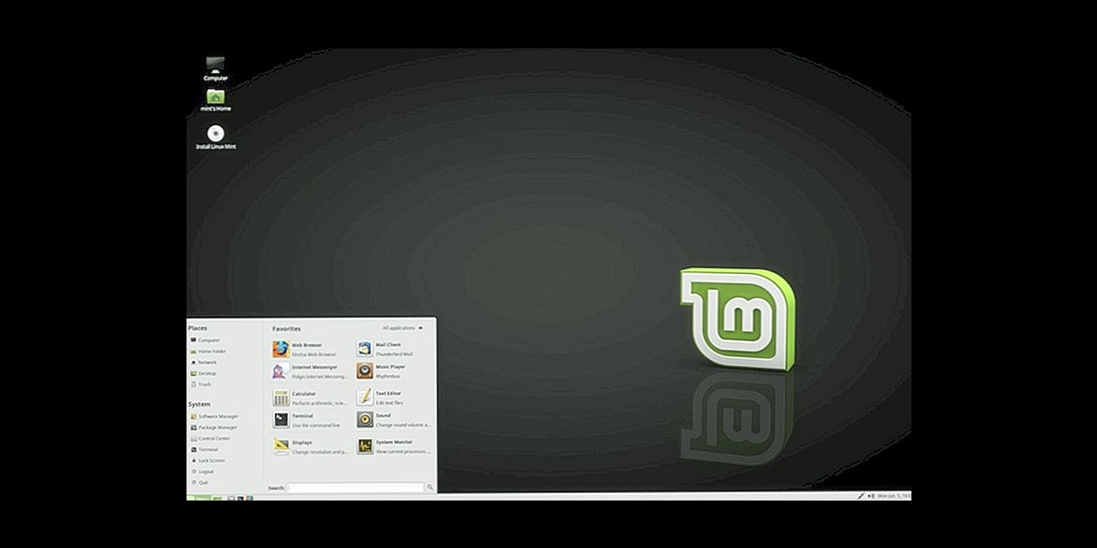 Linux mint mate флаг вместо букв